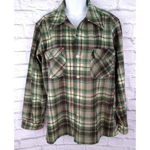 Vintage Pendleton Trucker Boyfriend Flannel M